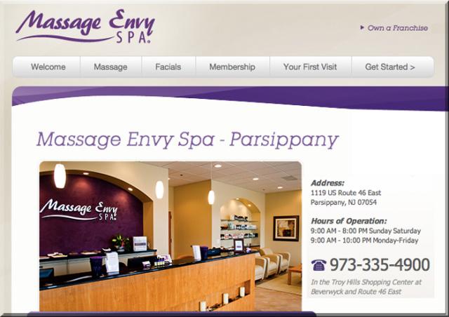 Spa Envy Parsippany Nj